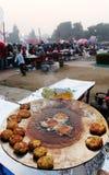 Индийский фестиваль еды улицы, Нью-Дели Стоковая Фотография RF