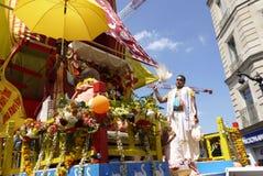 Индийский фестиваль, Ratha Yatra Стоковая Фотография RF