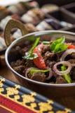 Индийский фрай говядины Стоковое Изображение RF