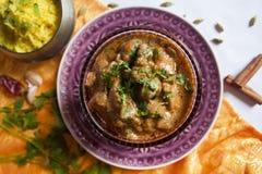 Индийский цыпленок масла (цыпленок Makhani) Стоковая Фотография RF