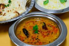 индийский vegetarian еды Стоковое Изображение RF