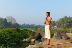 Индийский yogi Стоковая Фотография RF