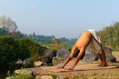 Индийский yogi Стоковые Изображения RF