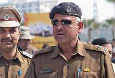 2 индийских полицейския в форме Стоковые Изображения RF