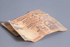 10 индийских рупий Стоковые Фотографии RF
