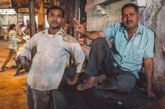 2 индийских люд Стоковое Изображение