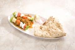 Индийское блюдо Kathi Kebab Стоковое фото RF
