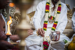 Индийское венчание Стоковые Изображения