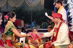 Индийское венчание стоковое фото