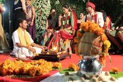 Индийское венчание стоковые фотографии rf