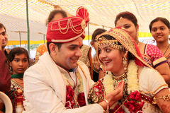 Индийское венчание стоковое изображение