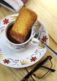 Индийское время кофе Стоковое Изображение RF