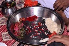 индийское замужество Стоковое Изображение RF