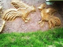 Индийское искусство стены Стоковая Фотография RF