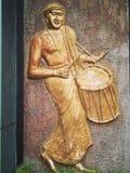 Индийское искусство стены стоковые изображения