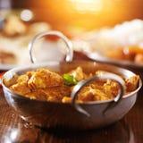 Индийское карри цыпленка масла Стоковое Фото