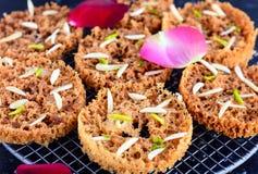 Индийское сладостное Ghevar стоковое фото rf