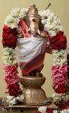 Индийское ganapati бога Стоковое Изображение