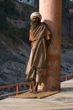 Индийское sadhu (святой человек) Стоковое фото RF