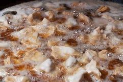Индийское samosa зажаренное в масле Стоковое фото RF