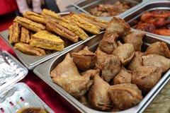 Индийское samosa закуски Стоковое фото RF