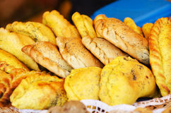 Индийское samosa Стоковые Изображения RF