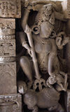 Индийское shiva мифологии идола Стоковые Изображения