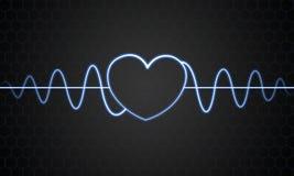 Индикатор влюбленности Стоковое Изображение RF