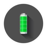 Индикатор польностью ровной обязанности батареи ровный бесплатная иллюстрация