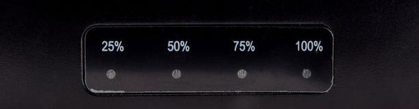 Индикатор процент Стоковая Фотография