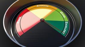 Индикатор уровня квалификации Стоковые Фото