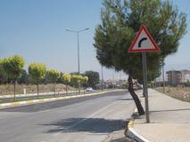 Индикация знака уличного движения Стоковые Фото