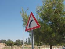Индикация знака уличного движения Стоковое Фото