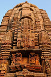 Индия, висок Muktesvara в Bhubaneswar Стоковые Изображения