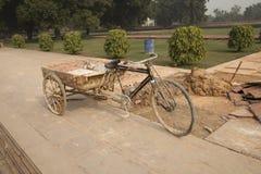 Индия, красный форт Стоковое Фото