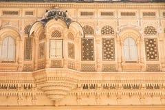Индия, форт Merangarh Джодхпура Стоковое Изображение