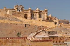 Индия, янтарный форт Стоковое Фото