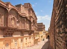 Индия, Джодхпур, форт Mehrangarh Стоковая Фотография