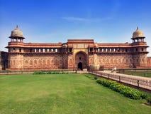 Индия agoraphobic Красный форт стоковое фото