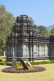 Индия goa Единственный, который остали висок Mahadev столетие XIII в Tambdi Surla стоковые изображения