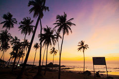Индия - Goa - Vagator Стоковое Изображение RF