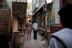 Индия varanasi Стоковые Изображения