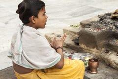 Индия varanasi Стоковая Фотография