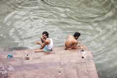 Индия varanasi Стоковое фото RF