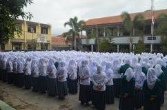 Индонезийская жизнь 2 школы Стоковые Изображения
