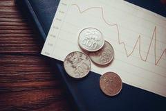Индонезийская рупия Стоковая Фотография RF