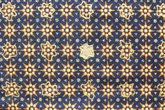 Индонезийская текстура саронга Стоковая Фотография