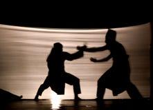 индонезийская тень игры Стоковые Фотографии RF
