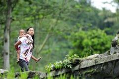 Индонезийские люди Стоковые Фотографии RF