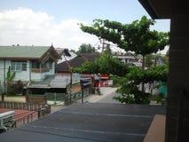 Индонезийский маленький город города kampung стоковые фото